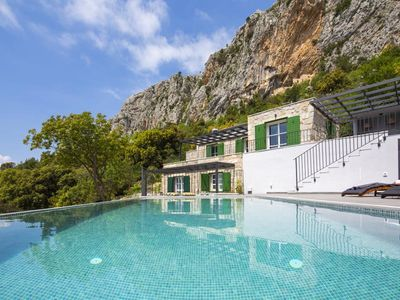 Photo for ctma205- Modern luxury holiday home with private pool, with a wonderful view