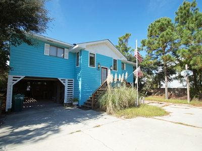 Photo for OCEANSIDE - 4 BEDROOMS, PRIVATE POOL & HOT TUB, WIFI, BASKETBALL & BEACH CART
