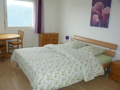 Photo for Chamossaire A 501 5 minutes from the cable cars and near the centre, modern apartment house. Apartme