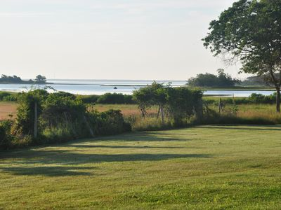 Photo for Stylish East Hampton waterfront retreat, studio/barn, stunning views, pool