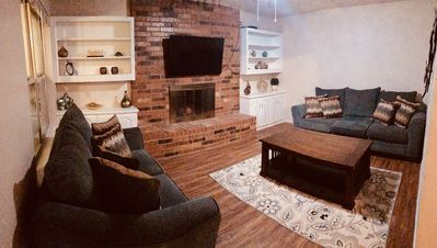 Second Living Area with Sleeper Sofa