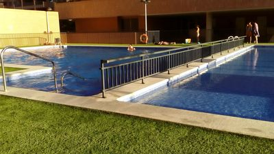 Photo for apartment + pool + near the beach + 2 bedrooms wifi parking in Valencia