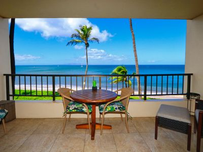 Photo for Oceanfront Condo at Sugar Beach Resort- Stunning Sunsets and Beach Front