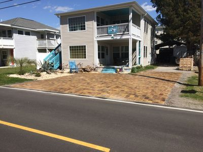 Photo for Park in front!  Walk in!  Steps away from the beach!  Crescent Beach!