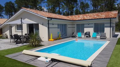 Photo for Villa 08 people with private heated pool classified 4 stars