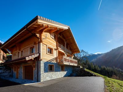 Photo for BEAUTIFUL SPACIOUS CHALET 'VE THE ROSE' MANIGOD