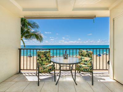 Photo for AMAZING VIEW! RIGHT ON BEST BEACH! POOL,HOT TUB,TENNIS,FREE PKG/WFi
