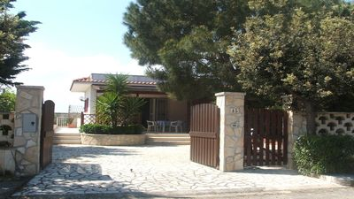 Photo for Villa for big Families at the Sea with Garden, Air conditioning, 2 Bedrooms,Puglia