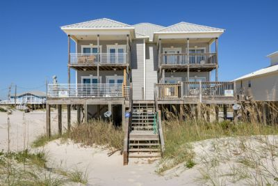 Photo for Tranquility West - 6 Bedroom Gulf Front 1/2 Duplex, Sleeps 13