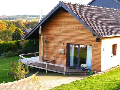"Photo for Holiday home ""Wanderlust"" in Nettersheim / Eifel, woodburning stove, terrace, garden"