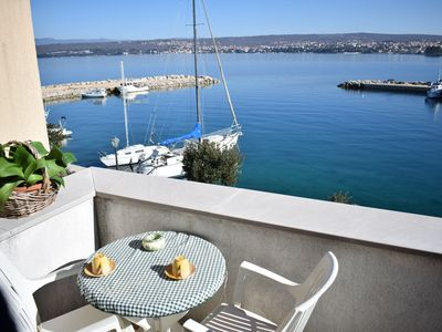 Photo for Apartment Blue Dream on the first floor with beautiful sea views