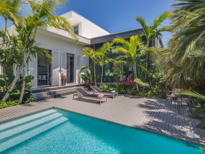 Photo for NEW LISTING! Gorgeous modern home with private pool near beach, fishing and more