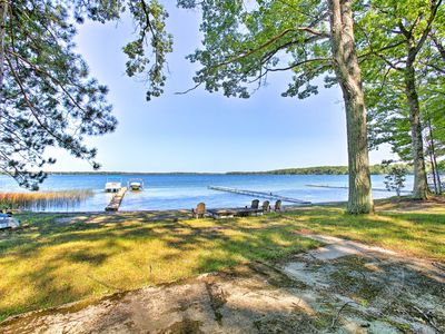 Photo for Idyllic Interlochen Cabin w/Dock on Green Lake