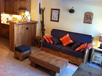 At the foot of the ski runs - 38 sq.m, charming, all the comforts