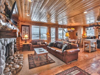 Photo for Epic Savings NOW! Mountain Slopes Right at Your Fingertips. Deck with Views & Hot Tub