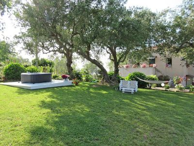 Photo for Pretty villa with jacuzzy on a hill, 15 minutes from the beach of Capo d'Orlando