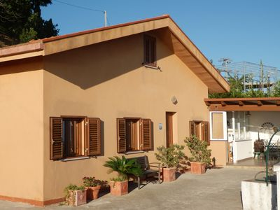 Photo for Holiday house near Cefalu with panoramic sea view