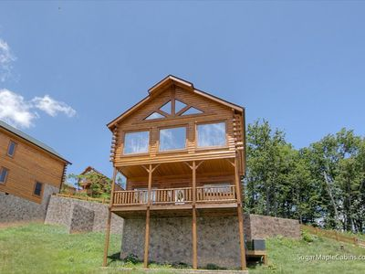 Photo for Big Sky | Long Range Mountain Views | Hot Tub | Pool Table | Convenient Location | Community Pool