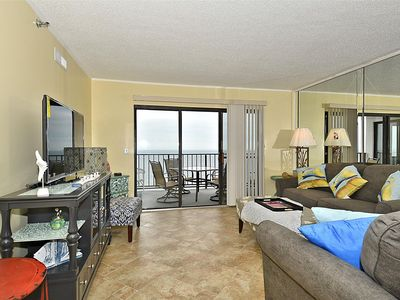 Photo for FREE DAILY ACTIVITIES! Spacious newly updated 3 bedroom, 2 bath condo located on the 10th floor.