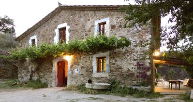 "Photo for Rustic ""Mas"" Farmhouse in Baix Emporda/CostaBrava"