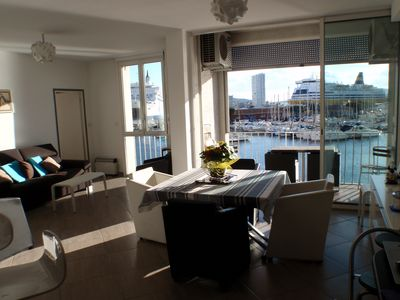 Photo for TOULON PORT SEA VIEW APARTMENT F3