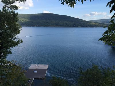 Photo for Canandaigua Lake Front Condo - Million Dollar Views!