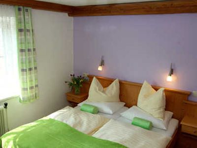 Photo for Double room 15 - organic farm Kasleitner (3 flowers)