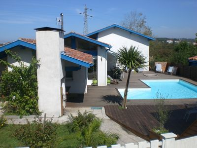 Photo for Bidart near biarritz villa 12 people 400m from the beach