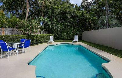 Photo for An Island Treasure right off St. Armand's Circle -- 3 BR / 2 BA Garden Pool Home - 1 mile to Beach