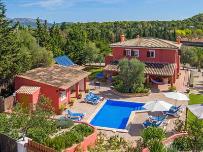 Photo for Villa with private pool & Mediterranian gardens