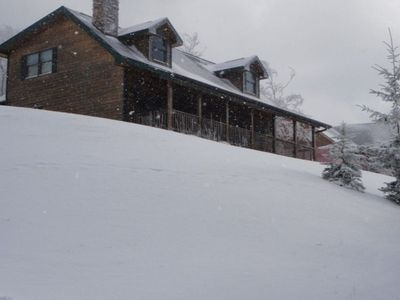 Photo for Cozy home right at Snowshoe mountain!!
