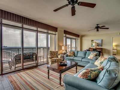 Photo for Oceanfront Penthouse with Spectacular Views in North Beach Plantation
