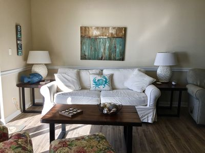 Photo for Shoalwater 704*** Beautiful Views, Beautiful Condo Right On The Beach