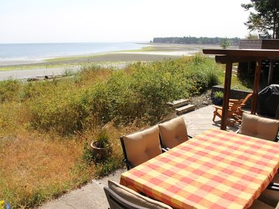 Photo for Walk-on Sandy Beach with Outstanding Ocean View,  Qualicum Bay