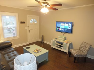 Photo for Adorable 1br cottage in Historic Downtown Murfreesboro. Walk to the Square, MTSU