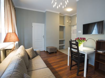 Photo for M12 apartment in Stare Miasto with WiFi & air conditioning.