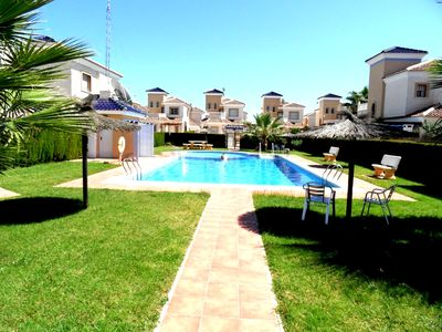 Photo for 2 Bedroom Air Conditioning, Detached Villa El Raso Guardamar Alicante