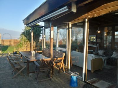Photo for 6 pers. House Marijke with winter garden and direct access to the Lauwersmeer