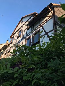 Photo for Quiet, near-natural 34sqm apartment in half-timbered house, Kassel-Harleshausen 2 PEOPLE