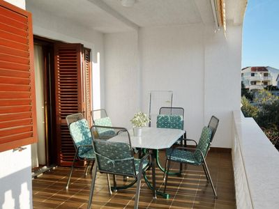 Photo for Two bedroom apartment with terrace and sea view Zadar - Diklo, Zadar (A-5913-a)