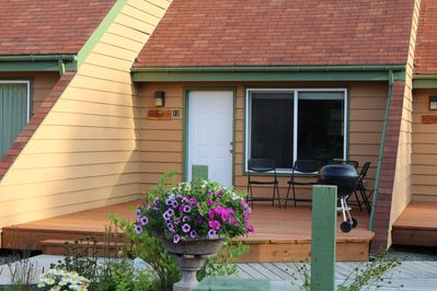 Our Condo with nice large deck