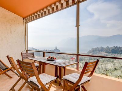 Photo for Residence Kormorano Malcesine Lake View - Apartment for 4 people in Malcesine