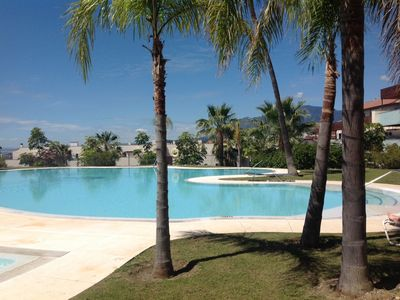 Photo for Apartment for rent in Los Flamingos, Benahavis with golf and sea