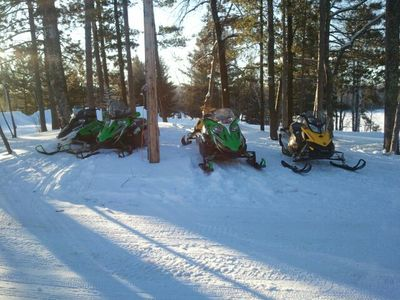 No Hassle, Rent a snowmobile,       Delivered to your door.