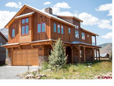 Photo for Now available Spring Break!!!  Luxury Custom Home in Crested Butte w/ Hot Tub