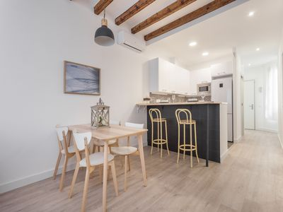 Photo for MODERN APARTMENT IN THE CITY CENTER FOR LONG-TERM RENTALS FOR 4