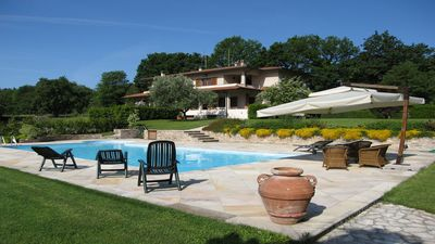 Photo for Villa Laura with private pool in the heart of the Camaiore hills