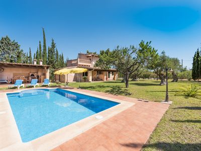 Photo for This 3-bedroom villa for up to 5 guests is located in Biniamar and has a private swimming pool, air-