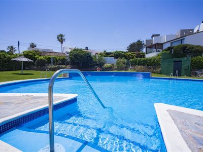 Photo for Spacious family villa, with WIFI and air-con, 80m from the beach and 5min to Estepona port