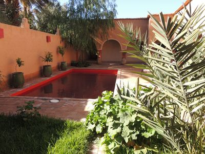 Photo for DAR HAMRA - HOUSE FOR RENT WITH POOL - AGDZ - SOUTH MOROCCO